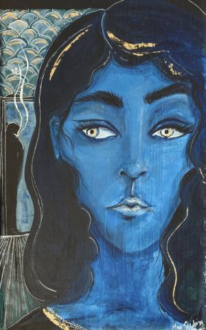 Den Blåa damen
